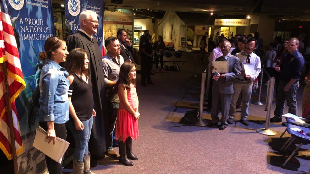 Dozens gain citizenship at naturalization ceremony | WOAI