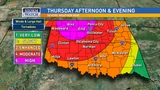 Severe thunderstorms still capable as storms move through Oklahoma