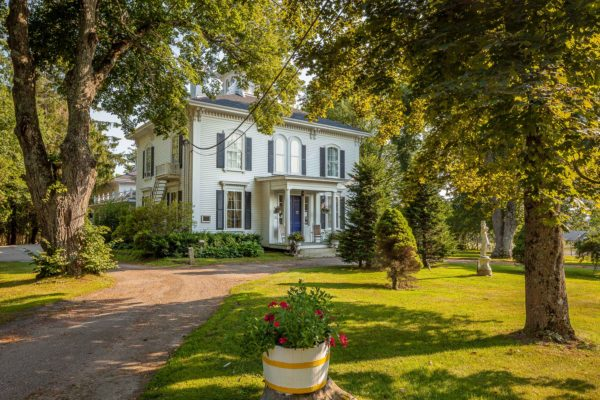 The Homeport Inn, a historic sea captain's house in Searsport, has a storied past. (Sotheby's International Realty via BDN)