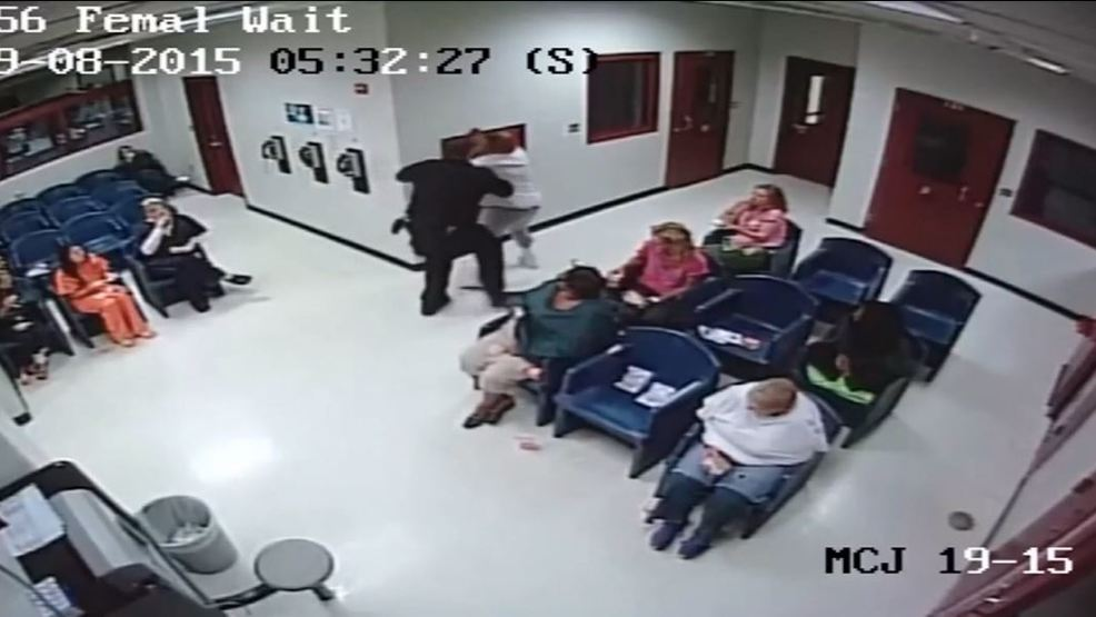 Video shows altercation between inmate, officer at Ohio jail