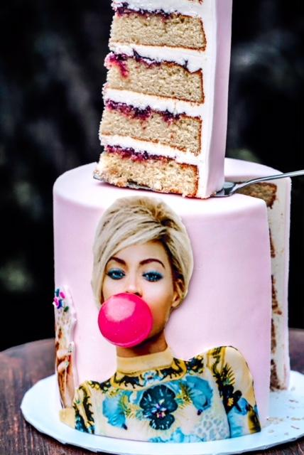 Trust pastry pro Tiffany MacIsaac – otherwise known as D.C.'s Queen B (that stands for Buttercream) – to come up with a cake decorated with Beyoncé blowing a bubble. These sweet dreams are available by custom order, serving from 22-30 lucky Beyhivers, depending on the size (multiple flavors available).(Image: Justin Schubel)