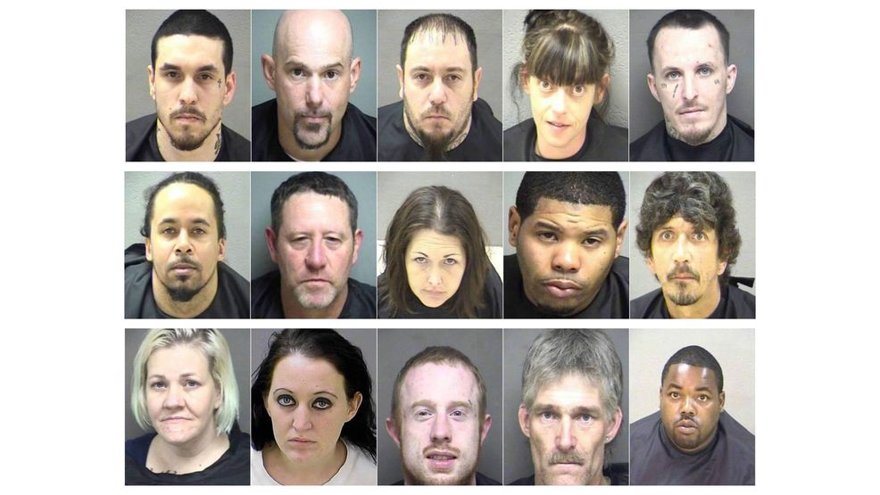 28 arrested, 15 wanted in huge area drug bust