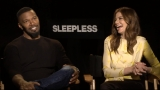 Unlikely brawlers: Jamie Foxx and Michelle Monaghan discuss 'Sleepless'