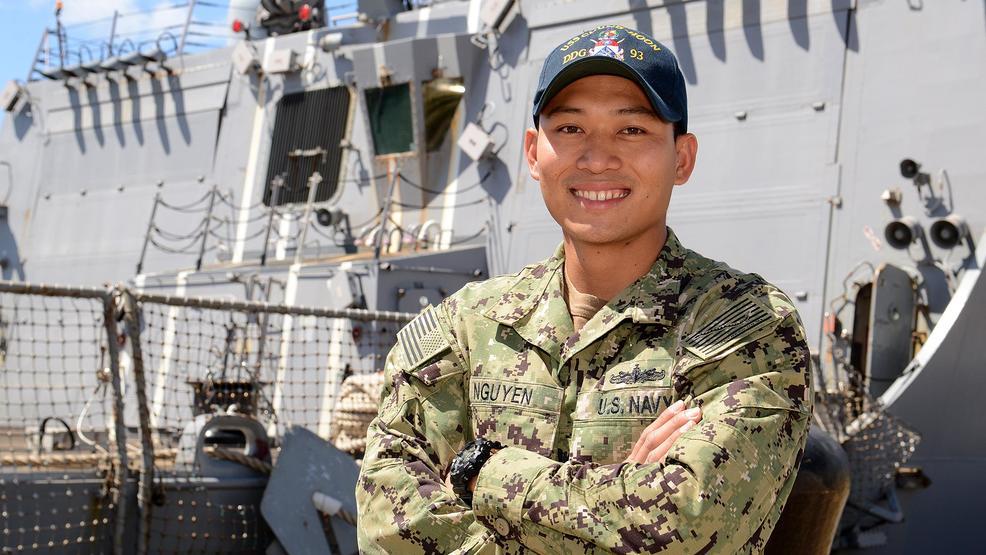 Boise native serves aboard U.S. Navy Guided-Missile Destroyer in Pearl Harbor