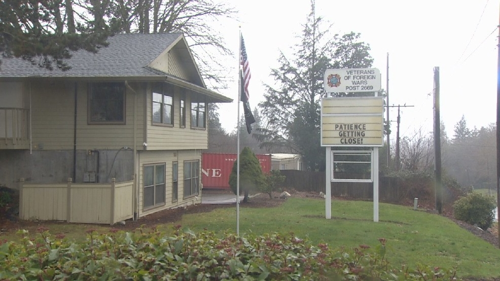 Fire code surprise keeps Port Orchard, WA VFW post closed; seeking donations to open