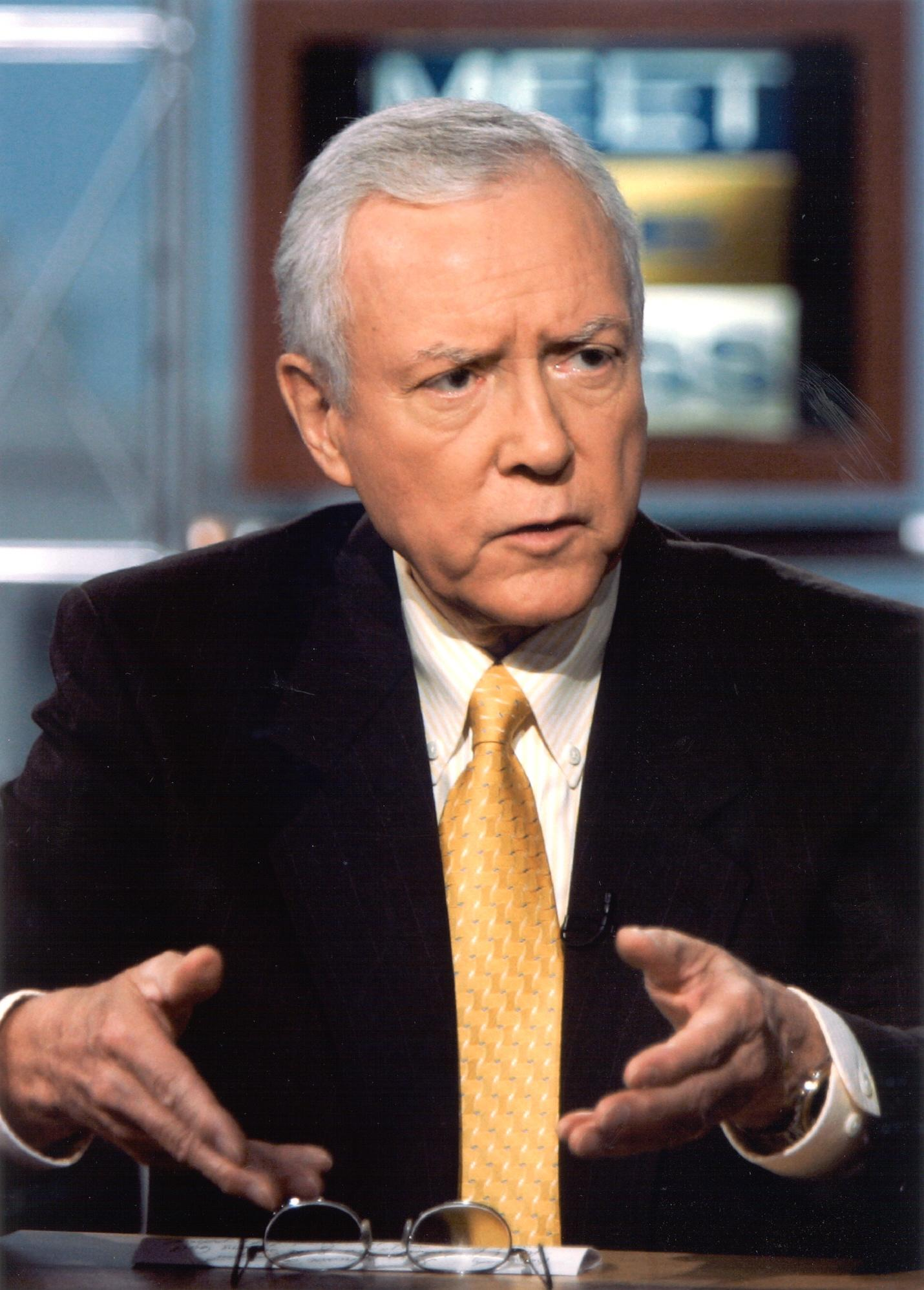 Sen. Hatch on Meet The Press (Photo: Courtesy Sen. Hatch's office)
