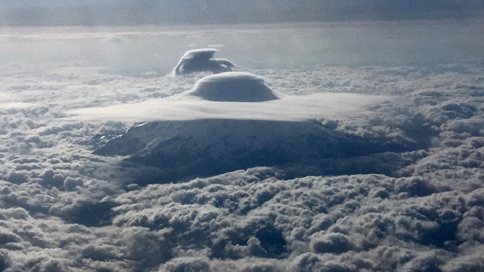 Weather blog: Mt. Rainier has been wearing its hat lately