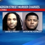 UPDATE: Two suspects in Madison Street homicide charged with murder