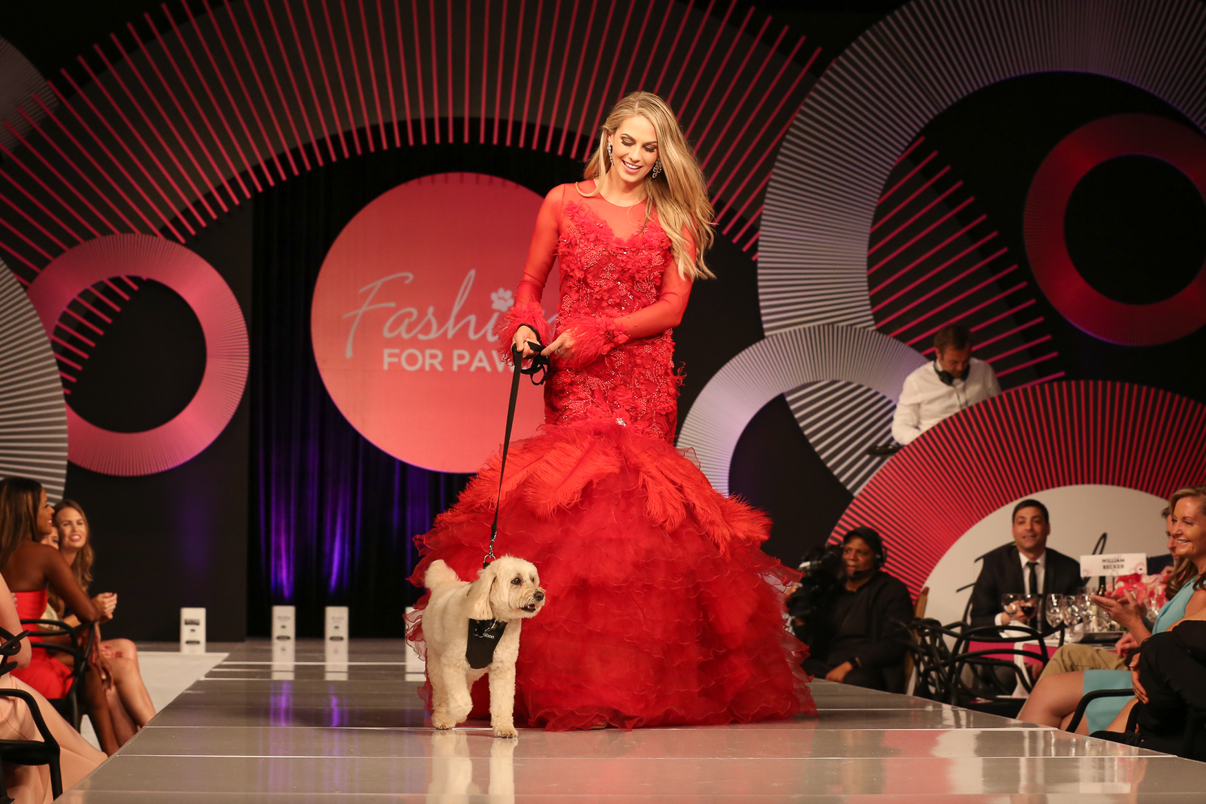 Spotted at Fashion for Paws: This dress is all one hue, but the different textures make it anything but bland.{ } (Amanda Andrade-Rhoades/DC Refined)