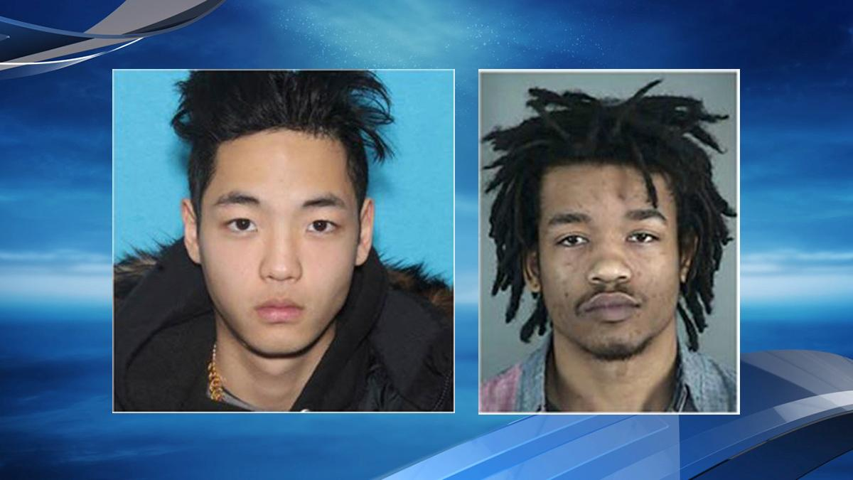 Photos of Cody Duk-Woo Moore and Jacob Timothy Richter-Shea (Eugene Police)