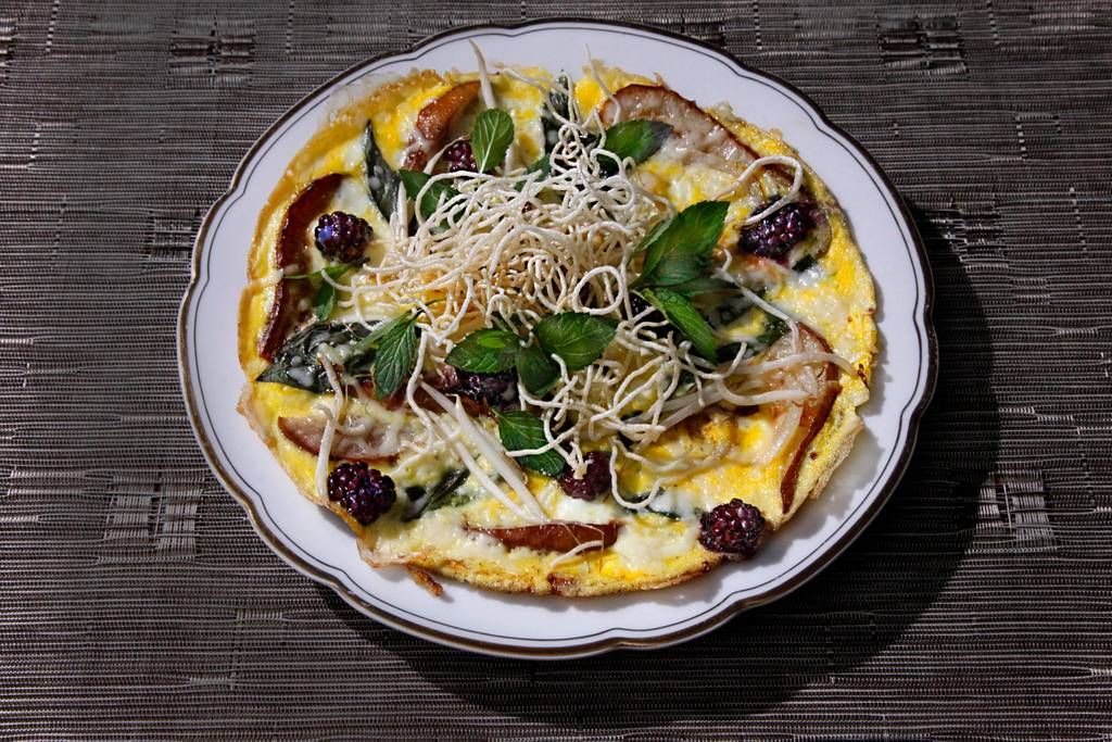 Thai-inspired frittata / Image courtesy of Michael Caporale // Published: 7.16.18