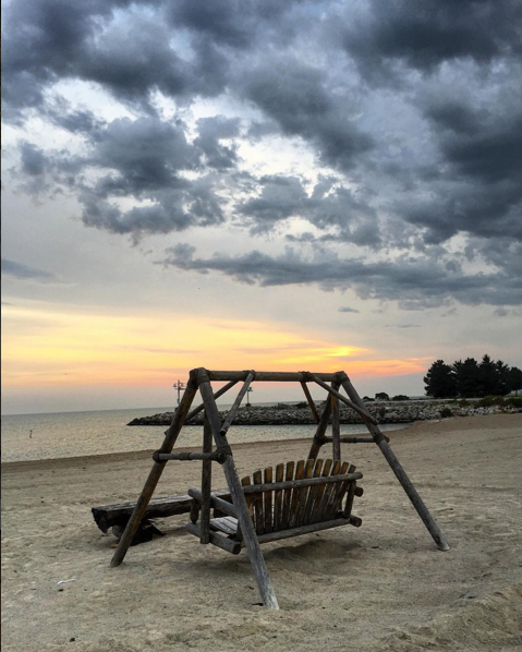 IMAGE: IG user @lisapavley / POST: Maumee Bay State Park Beach.