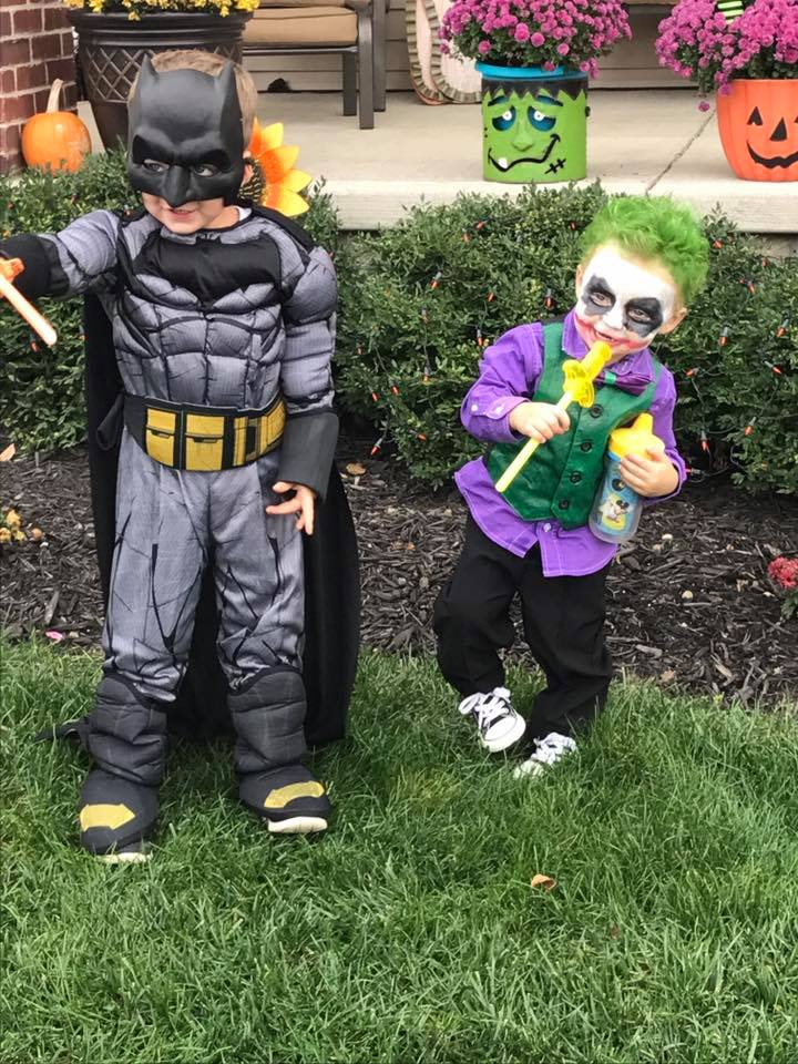 Batman and the Joker. Submitted by Holly Williams