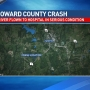 Woman suffers serious injuries in Howard County rollover crash