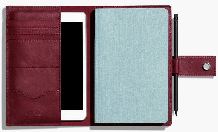 Shinola The Medium Journal/IPad Mini Cover w/ tab (assorted colors) - $195 (MoKiMedia)