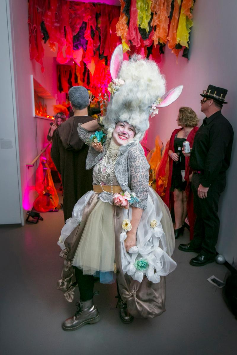 "Pictured: Pam Kravetz from the gallery ""21c's Secret Garden Halloween Party"" / Image: Mike Bresnen // Published: 12.31.17"