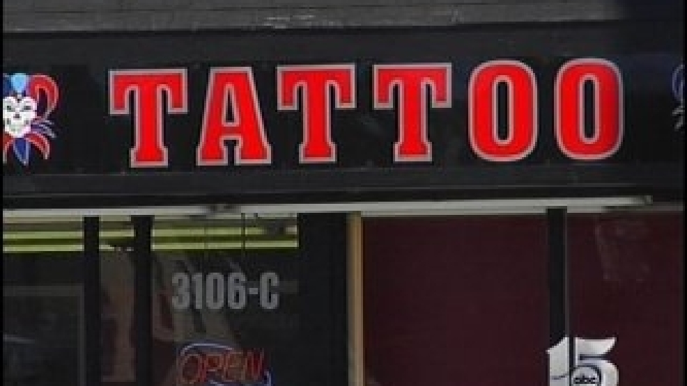 Dhec shuts down ab tattoo parlor following wpde for Tattoo removal columbia sc