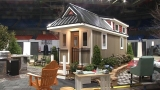 Inside a Tiny Home, display at WV Home Show