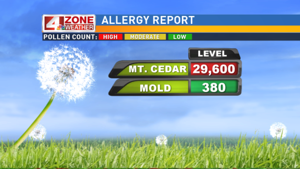 Another Terrible Day For Mountain Cedar Allergy Sufferers