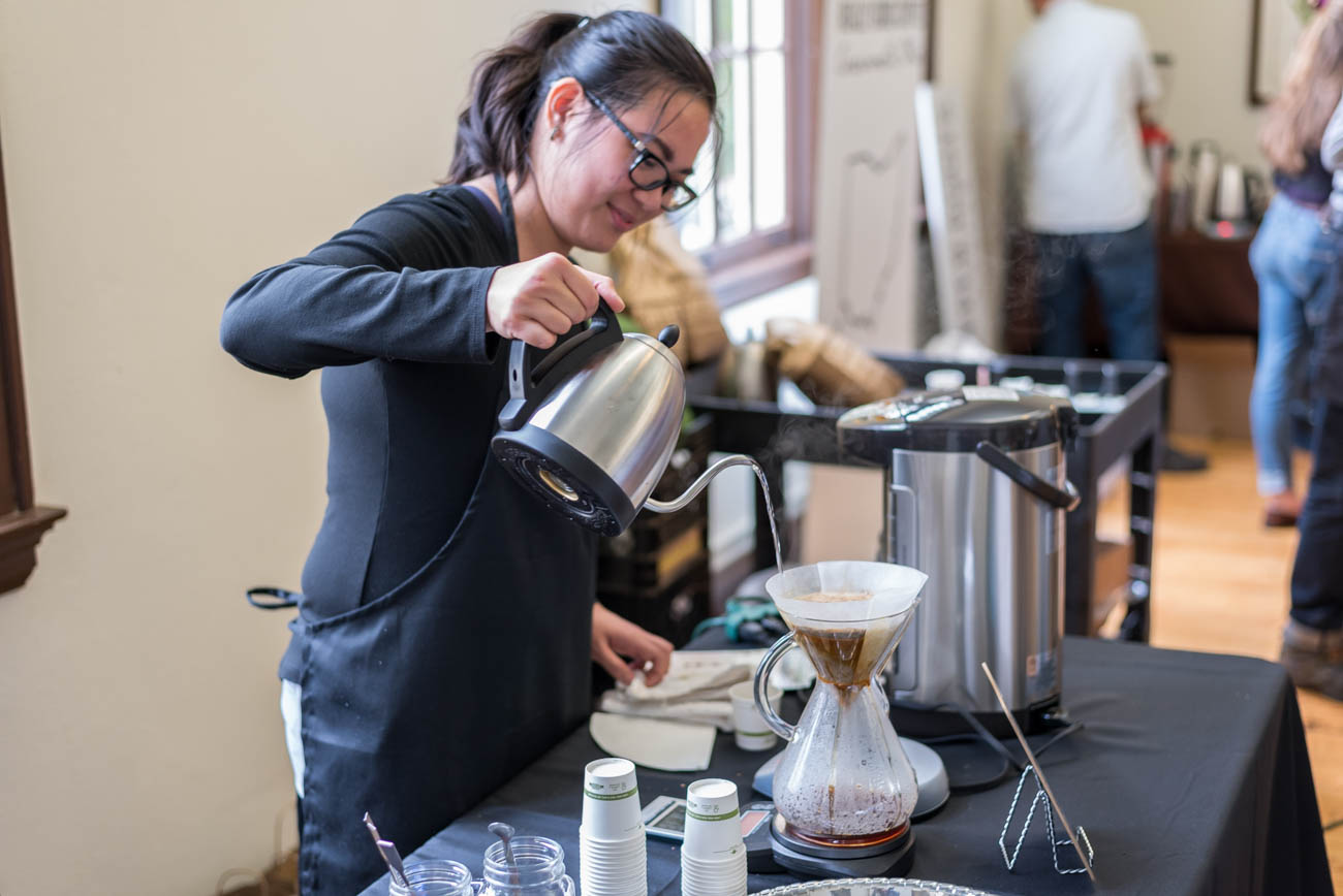 Christine Sandoval of Cocoon Coffee / Image: Mike Menke<p></p>