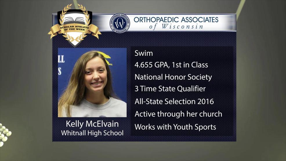 OAW 2017 Scholar Athlete Nominee: Kelly McElvain