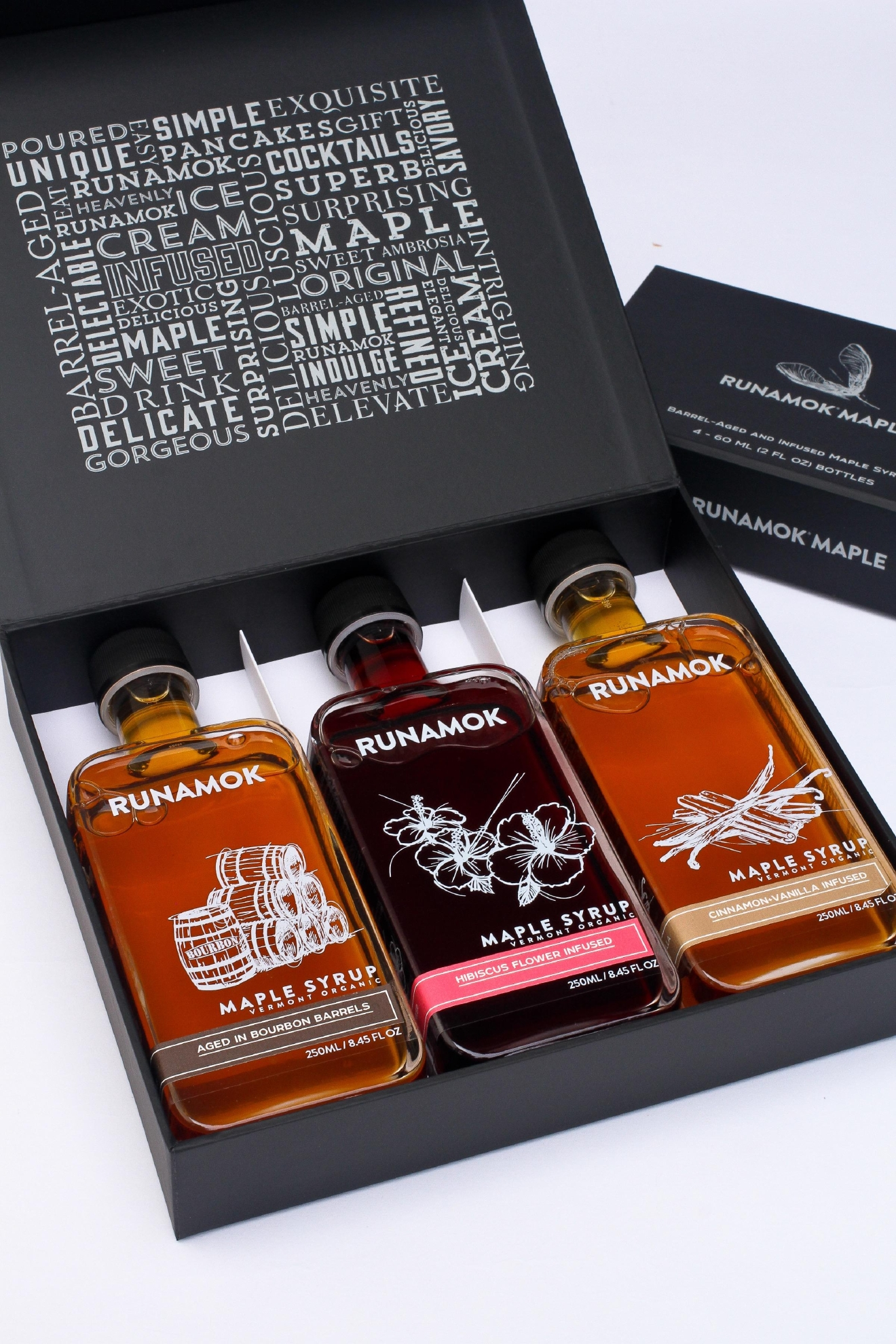 Runamok Bourbon Barrel-Aged Maple Syrup (Courtesy: Runamok Maple)