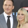 Anna Faris documents husband Chris Pratt's Walk of Fame induction on Twitter