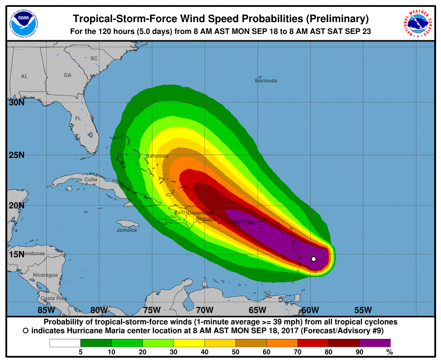 (National Hurricane Center)