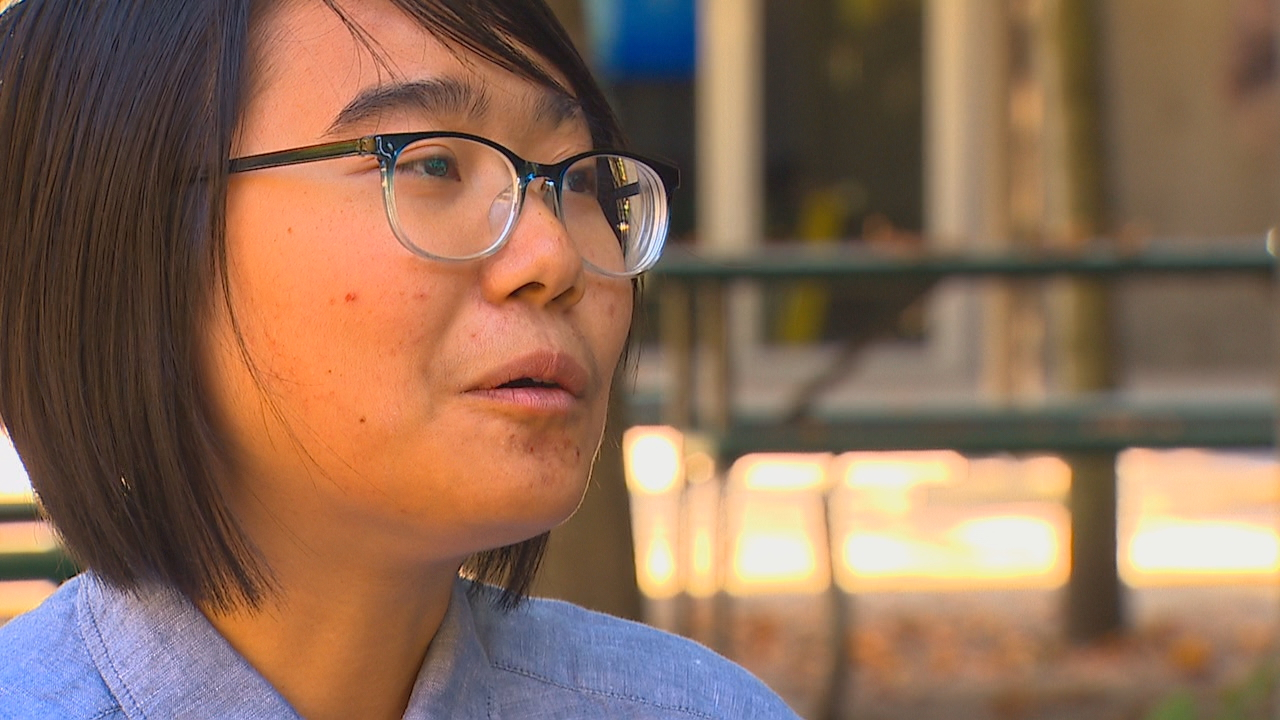 """I'm angry at myself. I'm angry at everything else,"" says survivor Phuong Dinh. KOMO News photo"