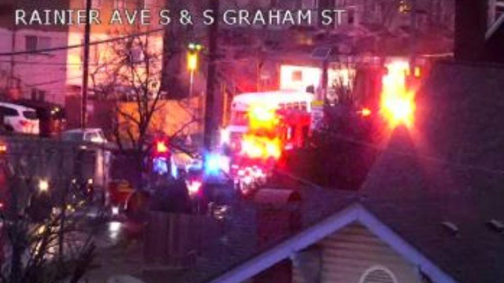 Woman rescued after car crashes into tree near Seward Park