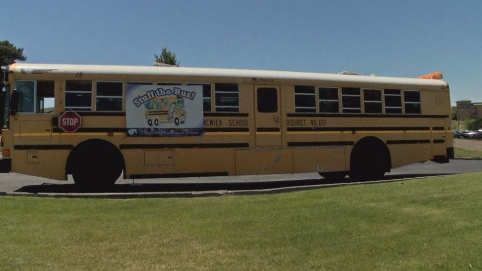 Quot Stuff The Bus Quot Donations Drive Kids On The Road To