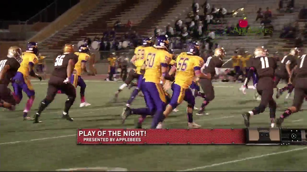 Play of the Night: Burges' Frias has a big run against Austin