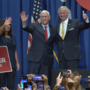 Vice President rallies for Gov. McMaster in Conway