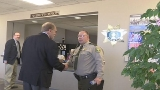 Loebsack visits with area law enforcement