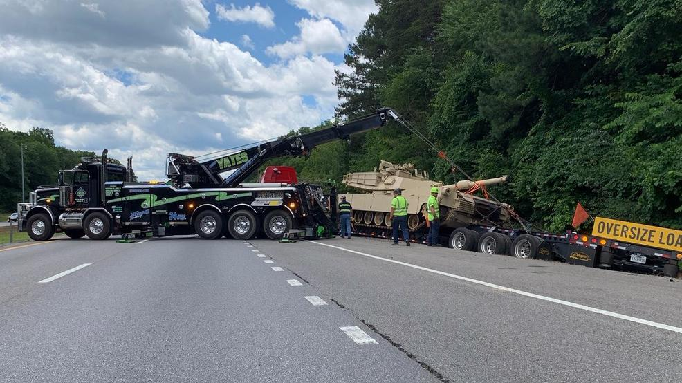THP: Tank transport incident on I-75 in Cleveland
