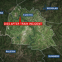 Man dies after incident involving train in Fayette County