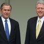 WATCH LIVE: President Bush and President Clinton speak at The Clinton Presidential Center