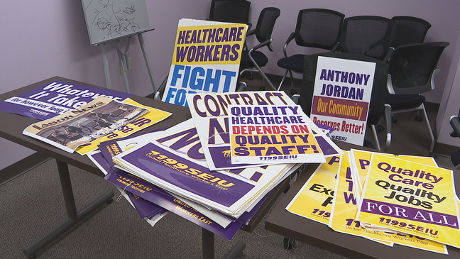 Jordan Health Center workers plan walkout for Monday