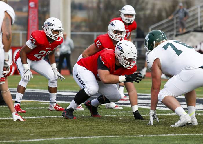 Souterhn Oregon University vs. Montana Tech at Raider Stadium on Saturday, Novermber 12, 2016. ( // PHOTOS BY: LARRY STAUTH JR)