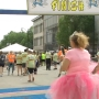 Thousands Pack Downtown Before Local Charity Run