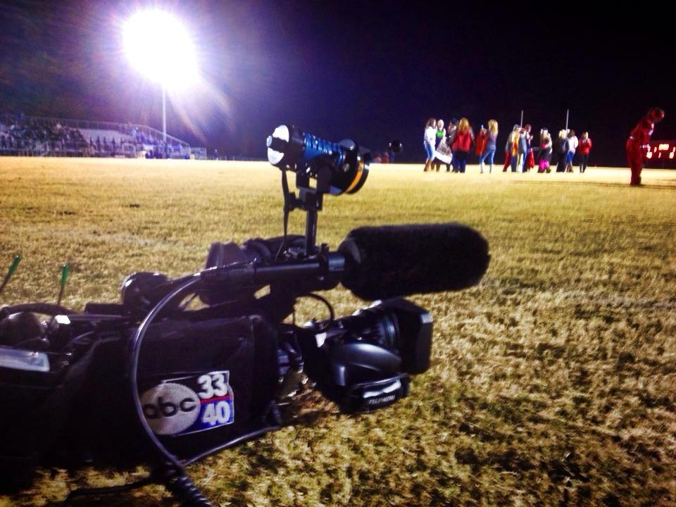 ABC 33/40 at Munford's home game against W.S. Neal in the second round of the AHSAA Class 4A playoffs, Friday, Nov. 14, 2014.