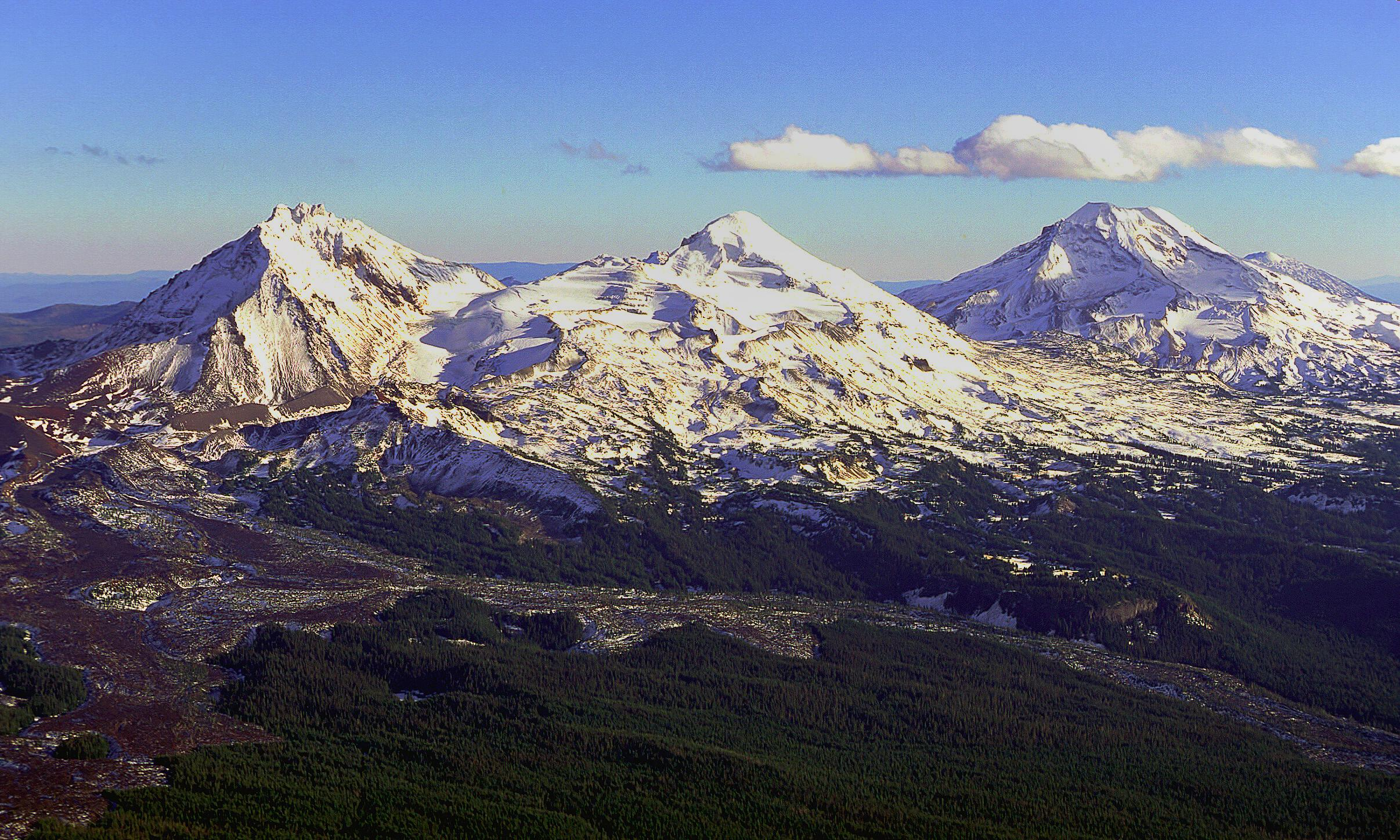 The Three Sisters (USDA Forest Service)
