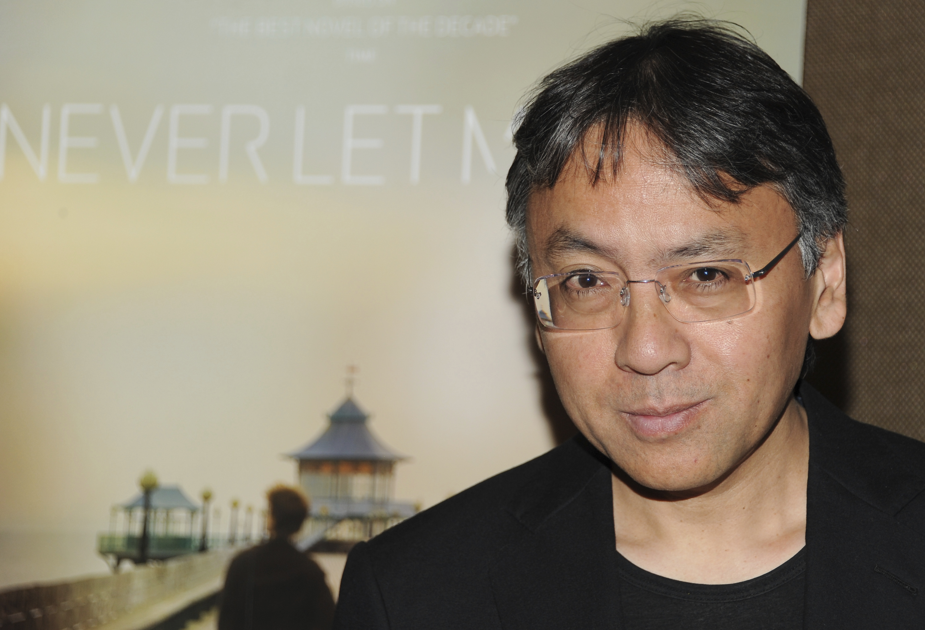FILE - In this Tuesday, Sept. 14, 2010 file photo, author Kazuo Ishiguro attends a special screening of 'Never Let Me Go' in New York. The Nobel Prize for Literature for 2017 has been awarded to British novelist Kazuo Ishiguro, it was announced on Thursday, Oct. 5, 2017. (AP Photo/Evan Agostini, File)