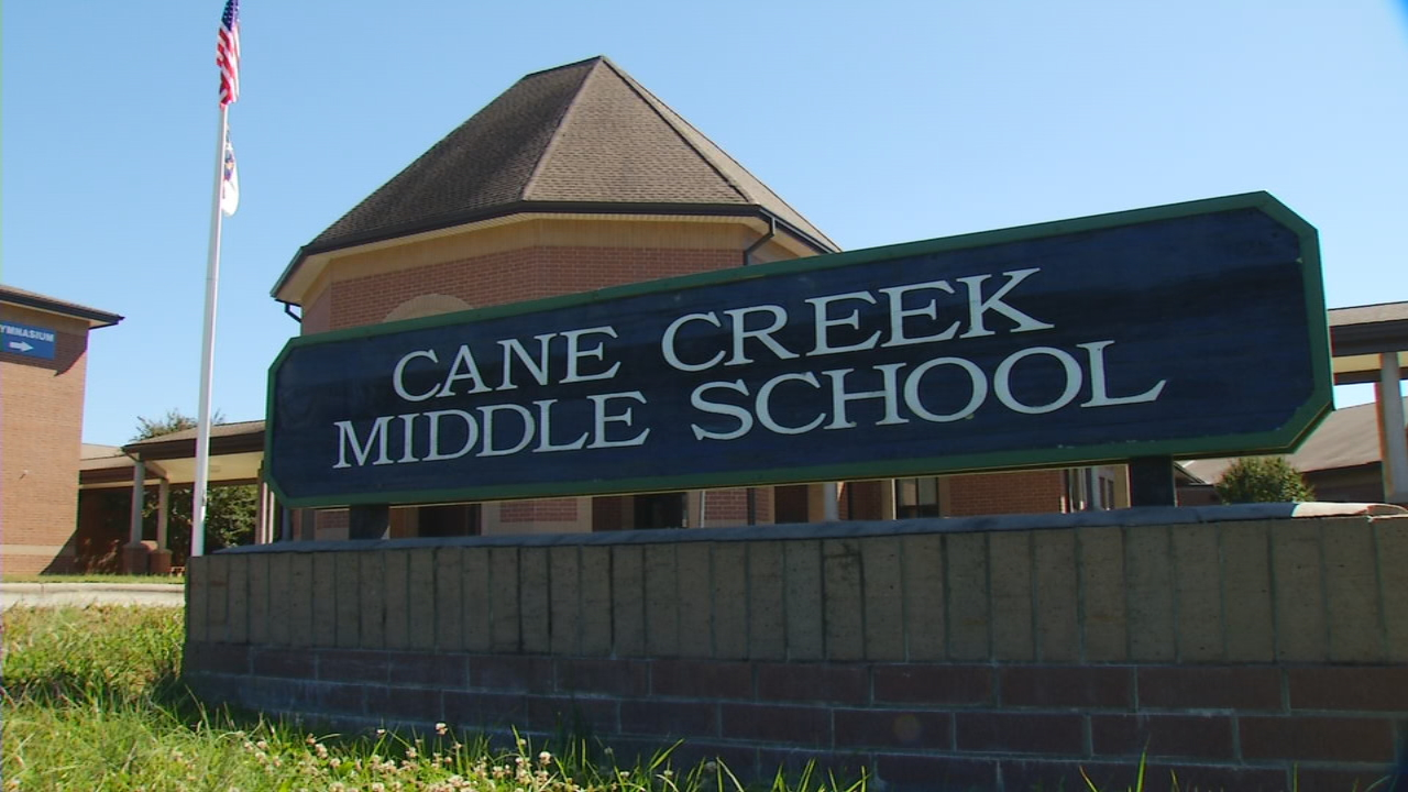 Take a look around the band room at Cane Creek Middle School, and you can see the tradition of success.{ } Past bands have played at Carnegie Hall, Disney World and Washington D.C., lead by band director Cliff Dodson.{ } (Photo credit: WLOS Staff)