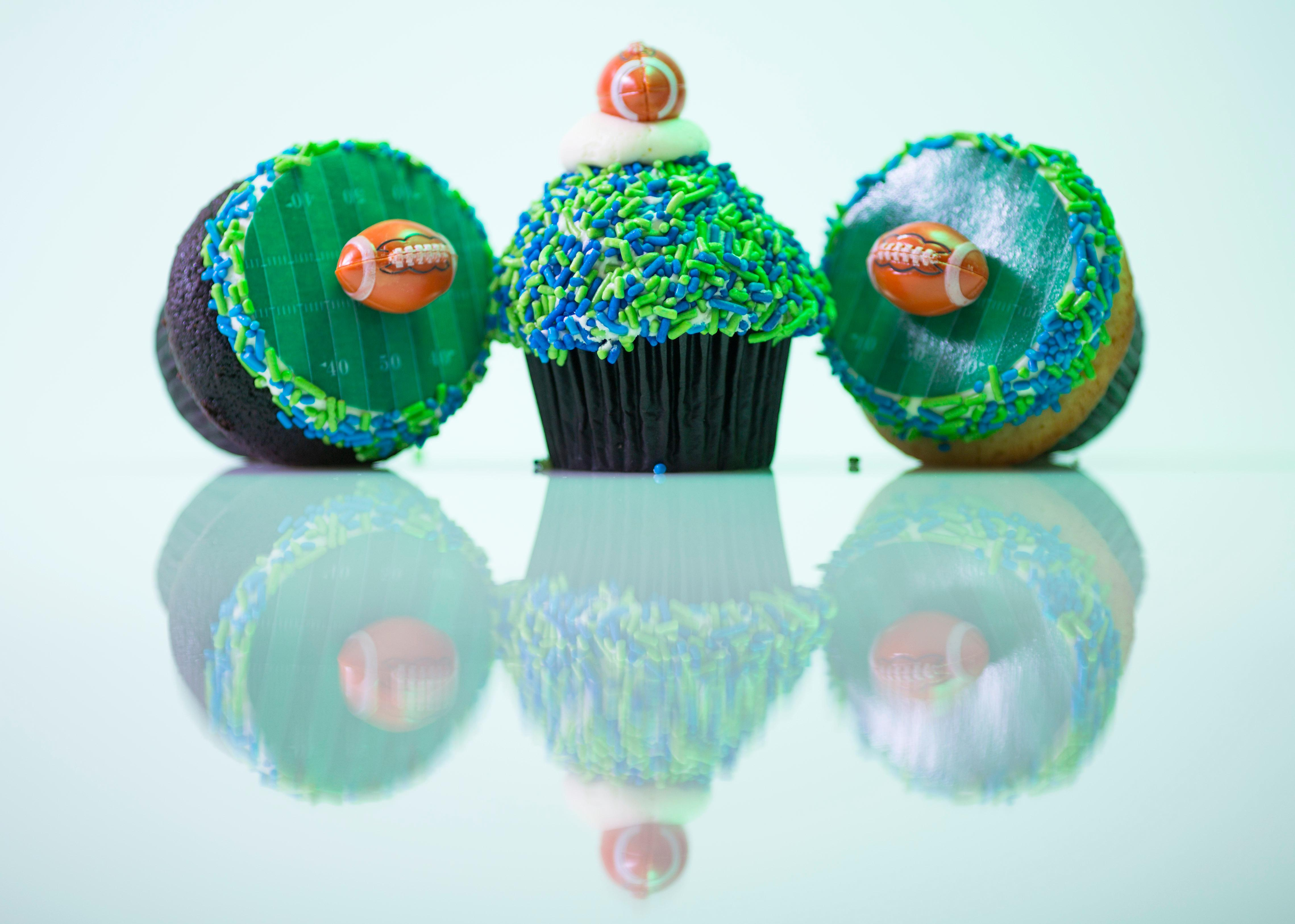 Another one of our favorite cupcake makers is Trophy Cupcakes - make sure to check out their Game Day Dozen and 12th Fan Dozen. (Sy Bean / Seattle Refined)