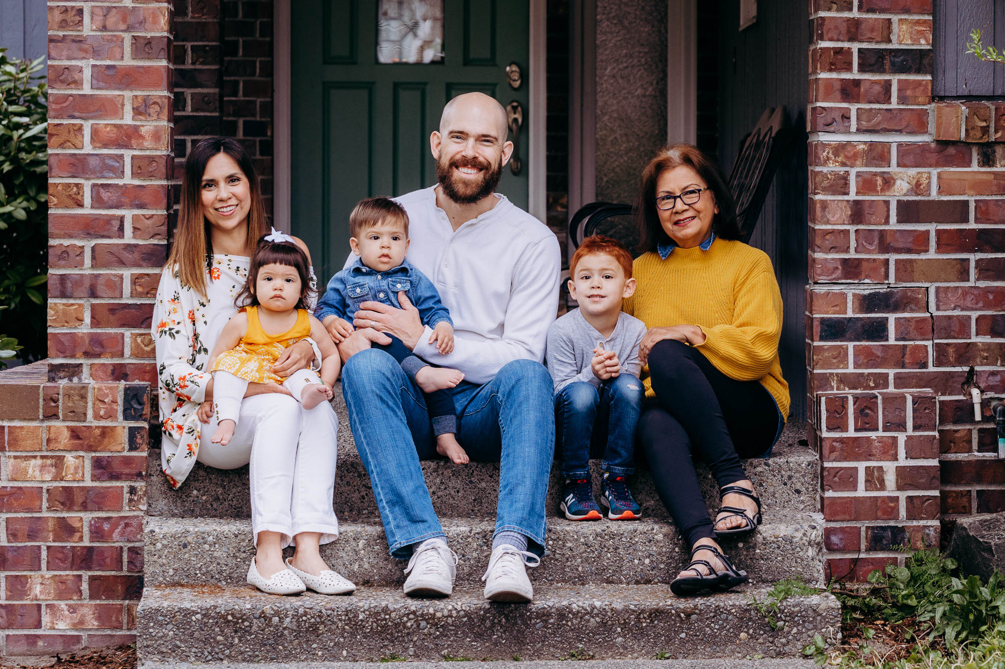 Photographer Senad Tiric  of Tacoma, and his family. (Photo: Sky Orca Photography)