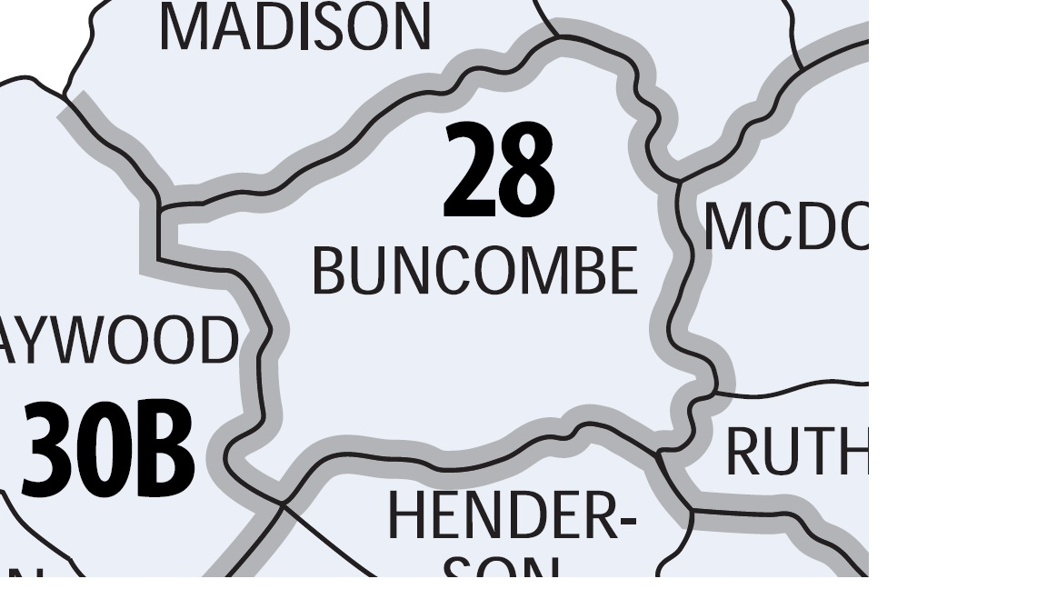 Buncombe County is currently one judicial district.{&amp;nbsp;}(Photo credit: North Carolina General Assembly)<p></p>