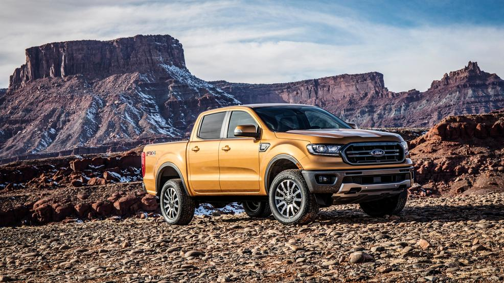 Ford Ranger Pickup Truck Priced From