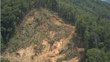 PHOTOS, VIDEO | Cleanup of massive landslide on Highway 9