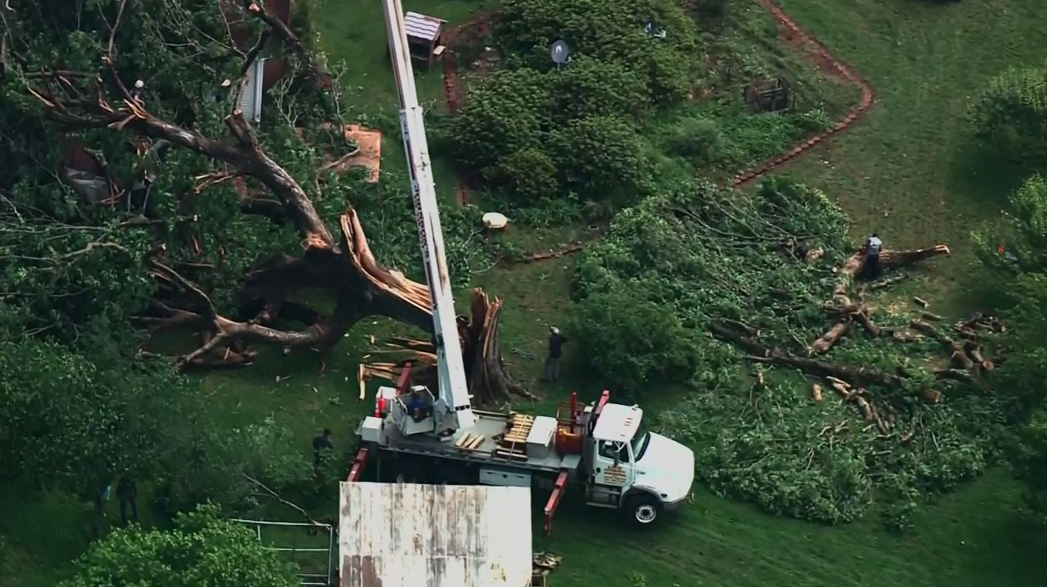 National Weather Service: Tornado touched down in Granville County early Friday (Photo: CNN Newsource)
